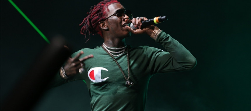 Young Thug at #CoulCaf18