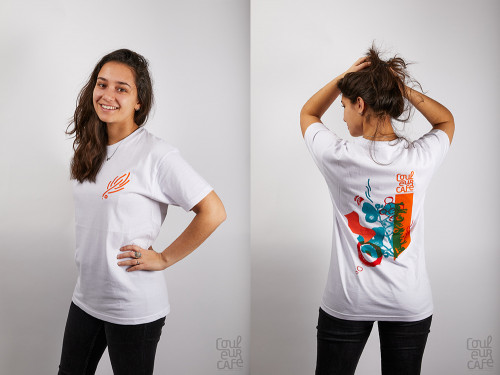 T-Shirt Vrouw Wit